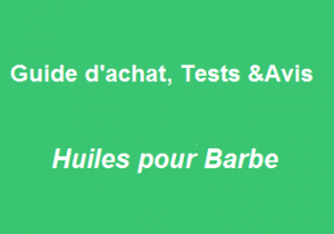 Huiles pour barbe